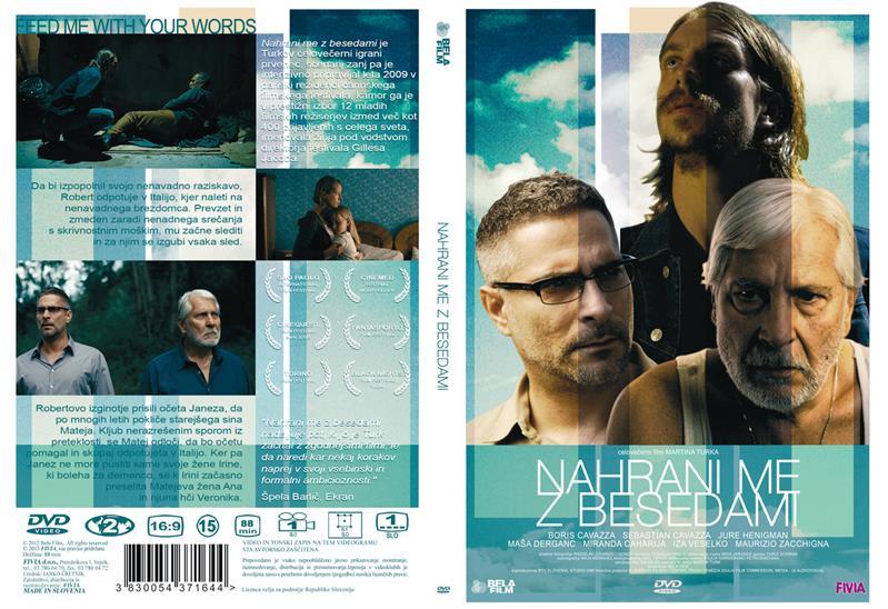 Film NAHRANI ME Z BESEDAMI - DVD SL.POD.