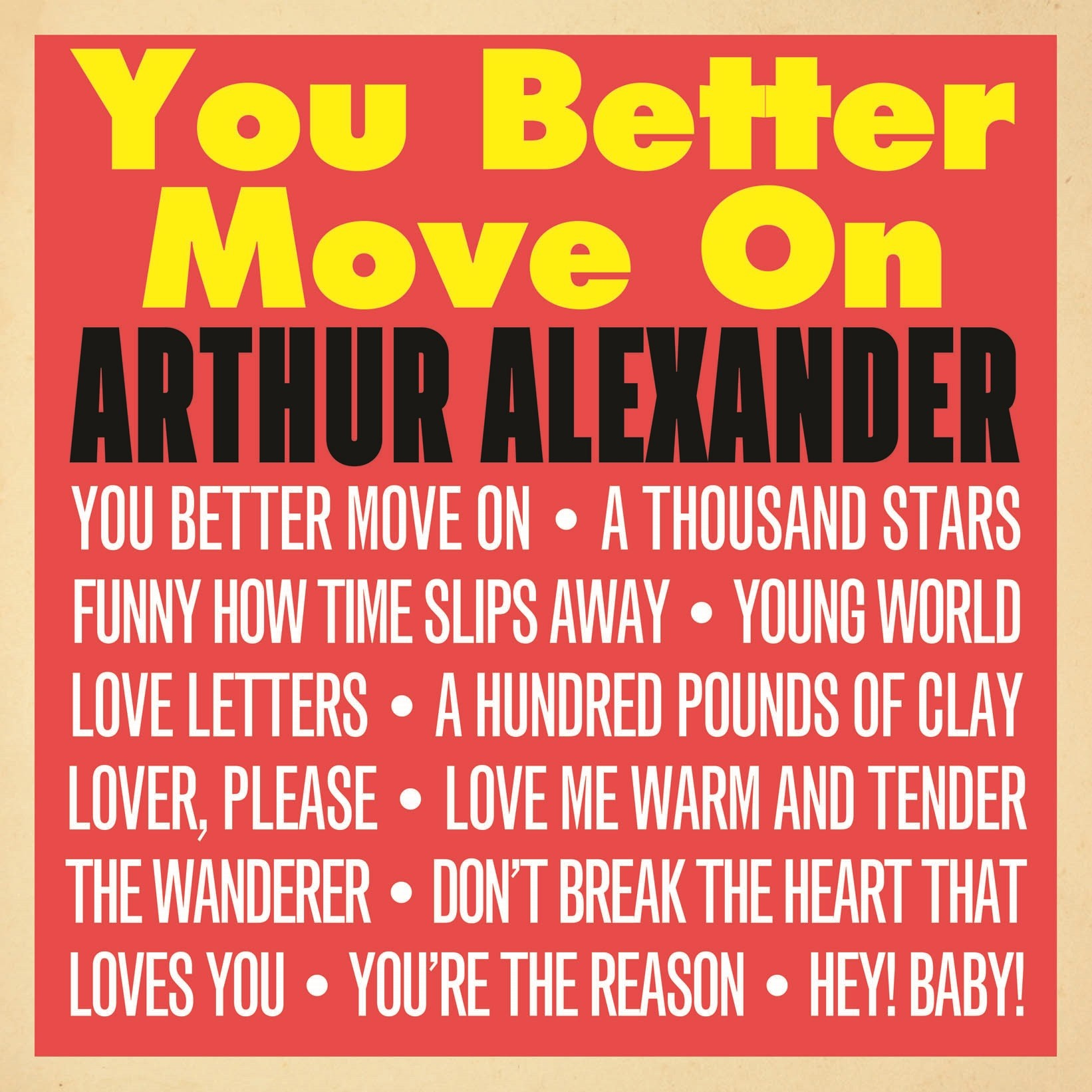 Lp plošča ALEXANDER A.- LP/YOU BETTER MOVE ON
