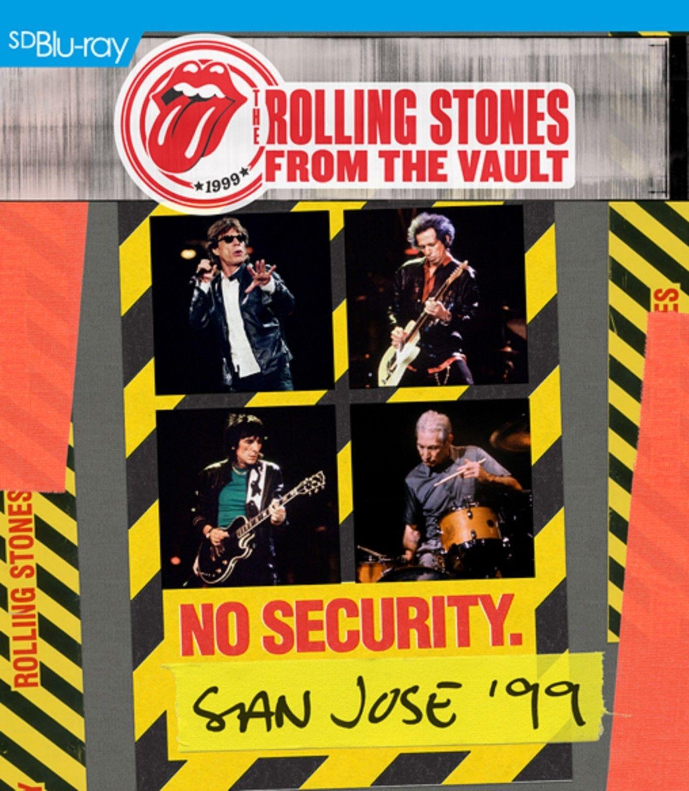 Blu-ray film ROLLING STONES - FROM THE VAULT:NO SECURITY BLU-RAY