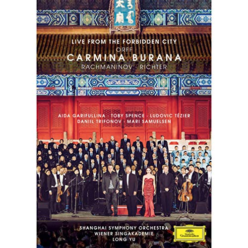 Blu-ray film CARMINA BURANA - LIVE FROM THE FORBIDDENBLU-RAY
