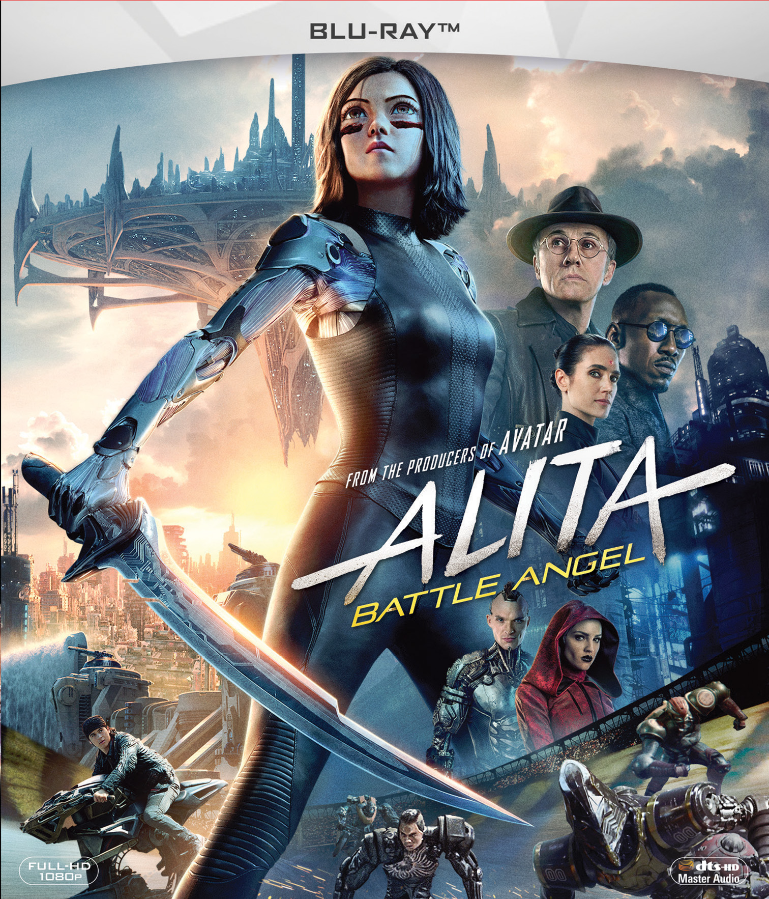 Blu-ray film ALITA: BOJNI ANGEL - BLU-RAY SL.POD.