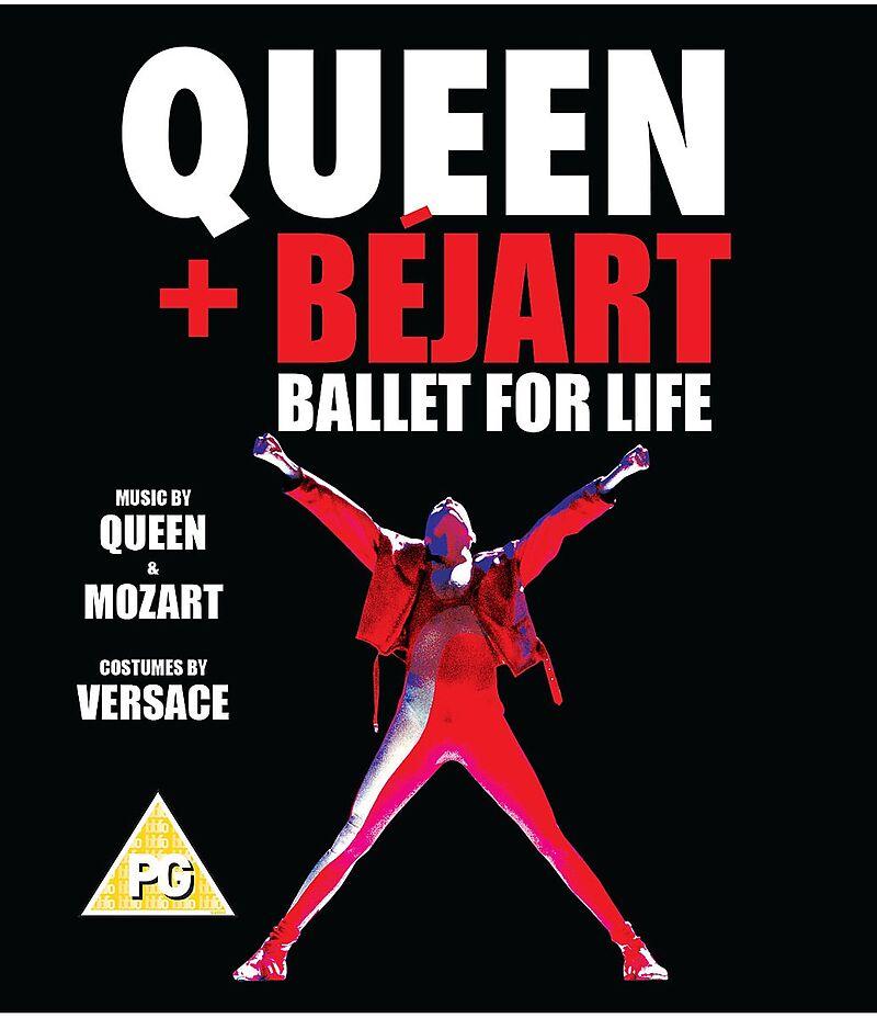Blu-ray film QUEEN & BEJART - BALLET FOR LIFE BLU-RAY