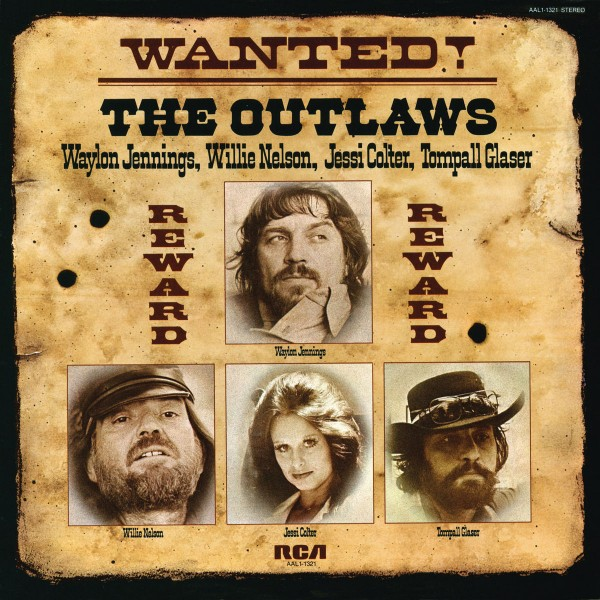 Lp plošča OUTLAWS - LP/WANTED!