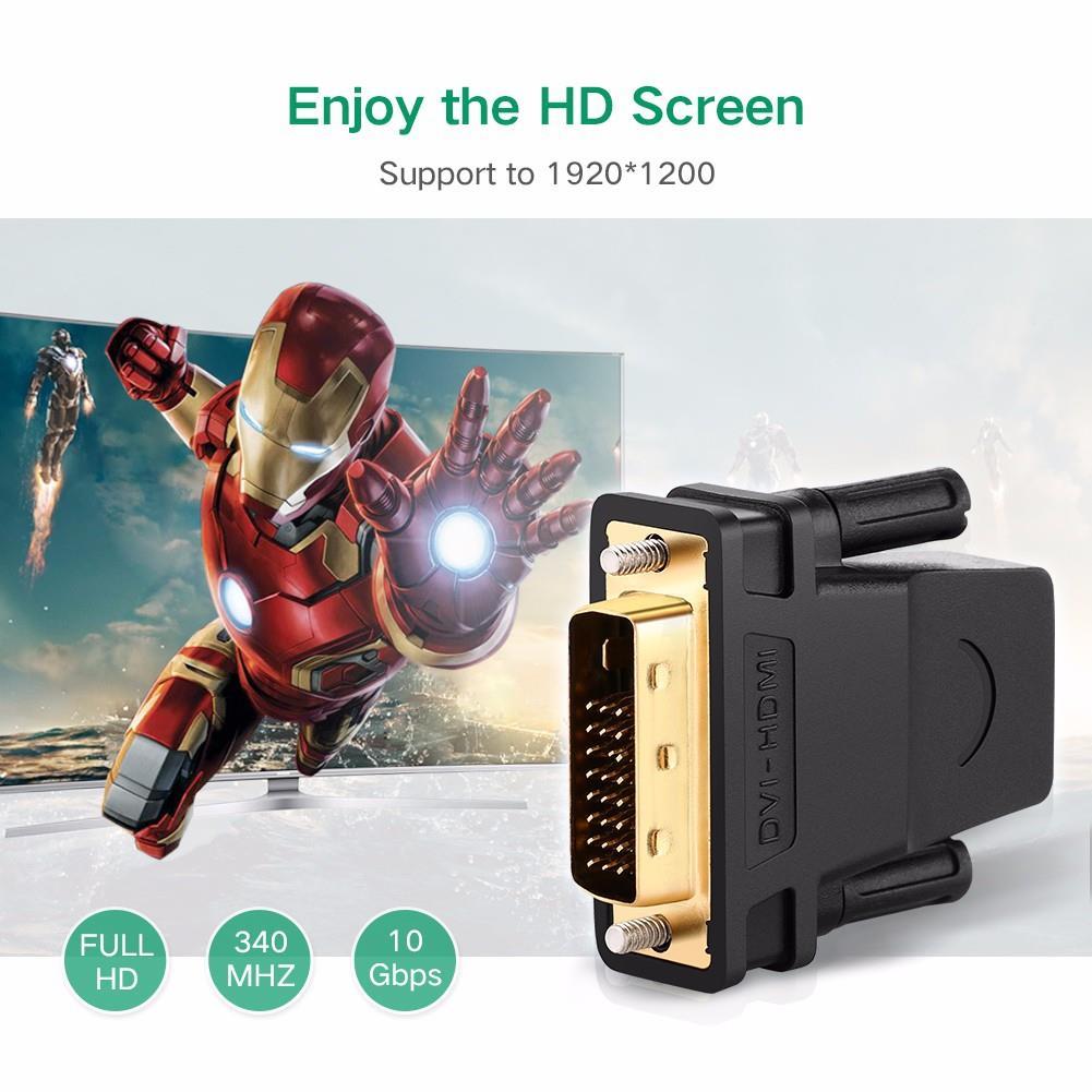 Adapter UGREEN DVI NA HDMI ADAPTER