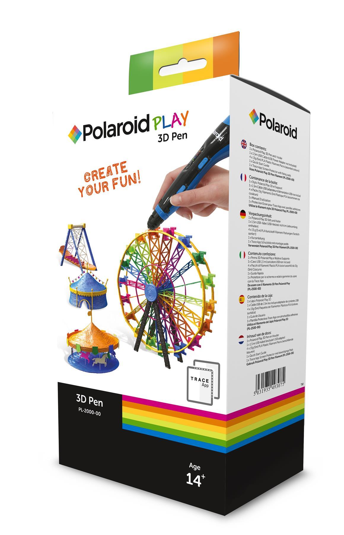 3D pisalo 3D PISALO PLAY POLAROID 3D