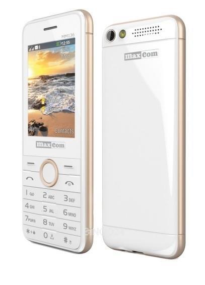 Gsm telefon GSM MM136 BELA/MODRA MAXCOM