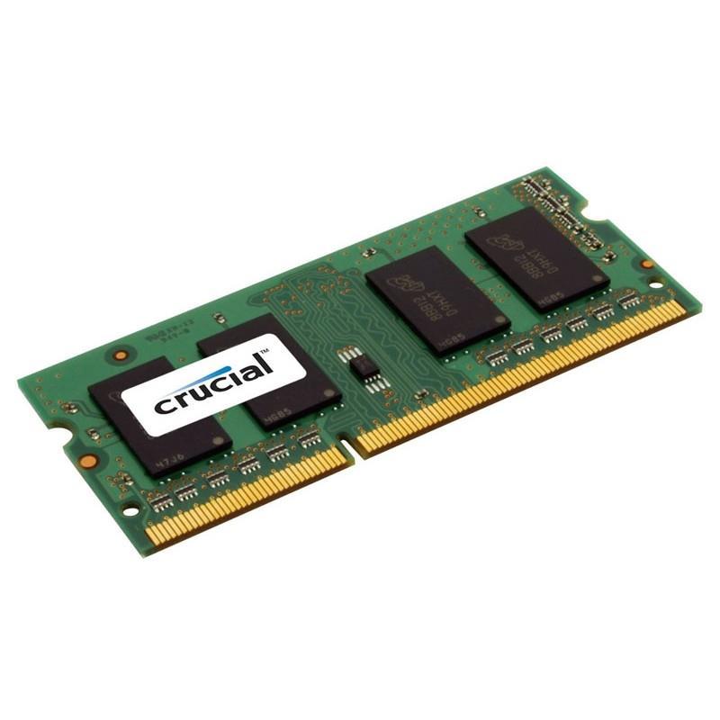 Pomnilniki 8GB DDR3 1600 PC3-12800 CL11 SODIMM CRUCIAL