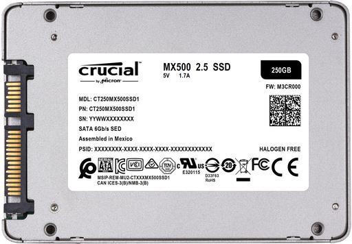 Trdi disk SSD 250GB 2.5