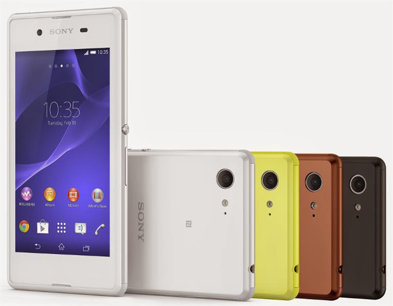 Pametni GSM telefon GSM SONY XPERIA E3 BEL XPERIA SONY SMARTPHONE