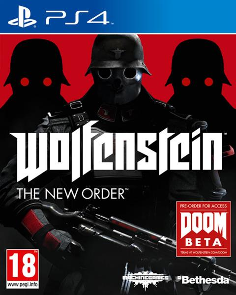 Igra WOLFENSTEIN THE NEW ORDER PS4