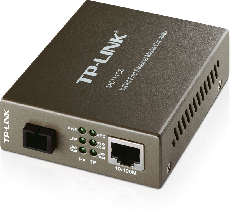 Računalniška oprema in dodatki MC111CS 10/100MBPS WDM MEDIA CONVERTER TP-LINK