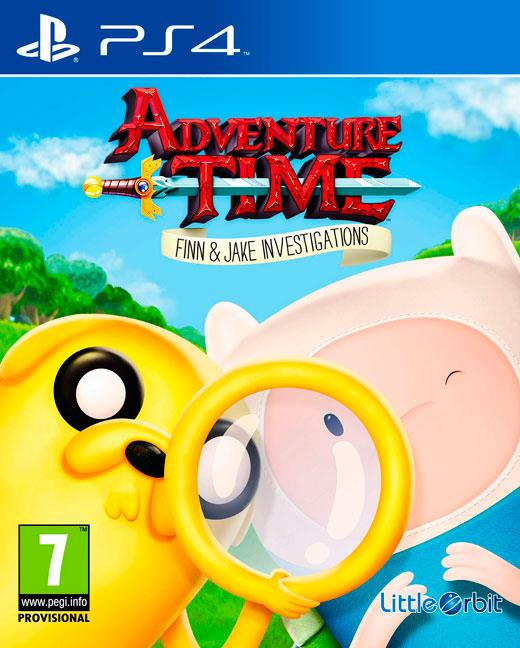 Igra ADVENTURE TIME: FINN AND JAKE INVESTIGATIONS PS4