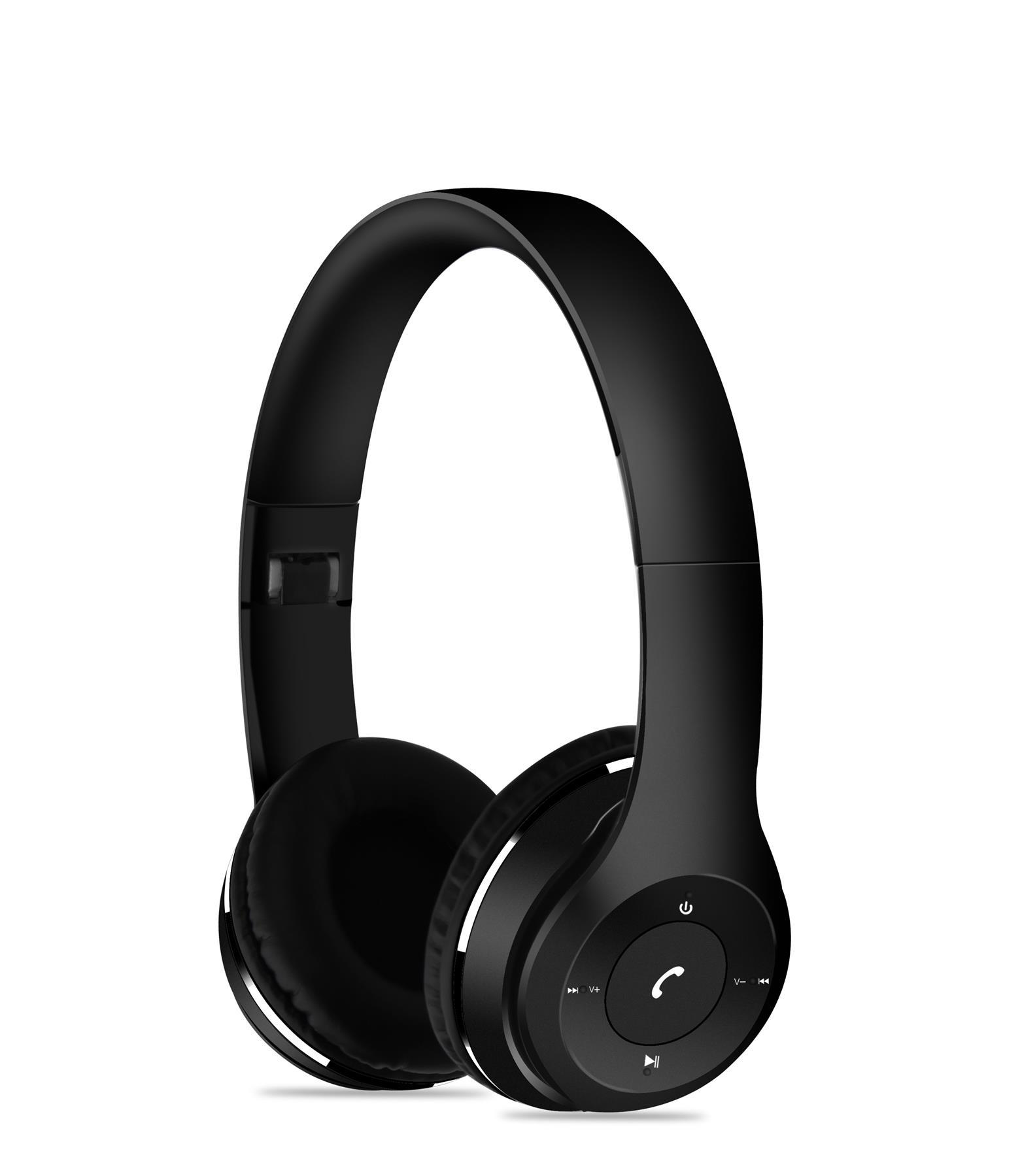 Slušalke XP5909 BT FM/SD ČRN SLUŠ XPLORE