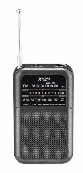 Tranzistor XP330 FM RADIO XPLORE BATERIJSKI