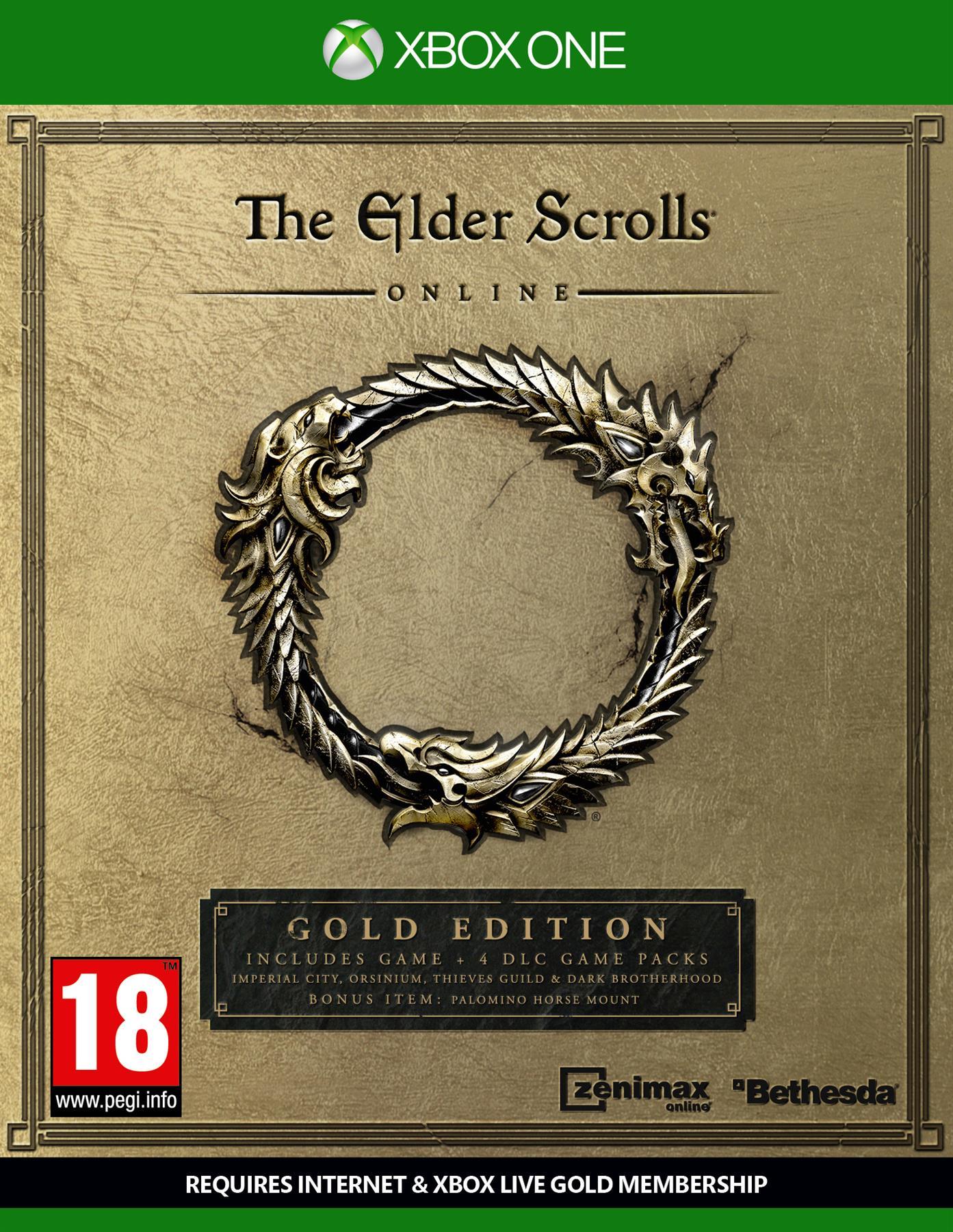 Igra THE ELDER SCROLLS ONLINE GOLD EDITION XBOX1