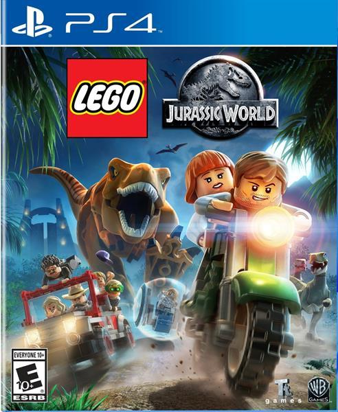 Igra LEGO JURASSIC WORLD PS4