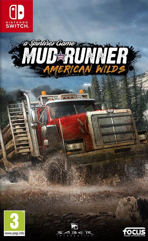 Igra SPINTIRES - MUDRUNNER USA EDITION SWITCH