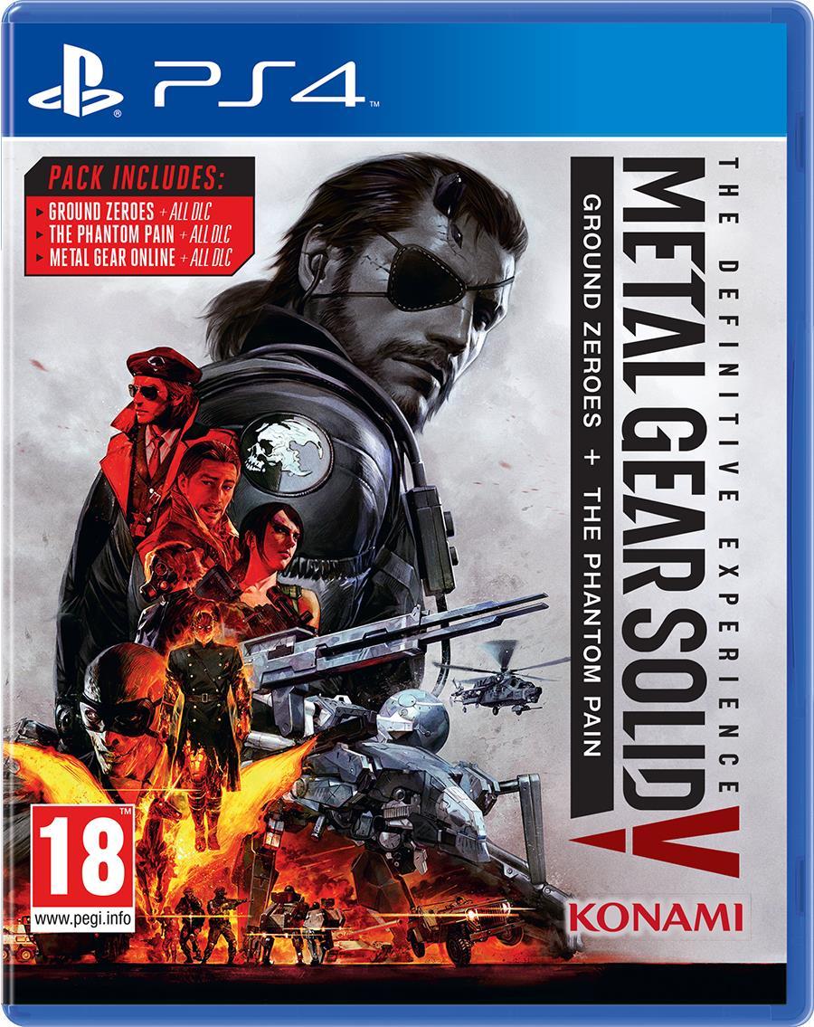 Igra METAL GEAR SOLID V DEFIN. EXPERIENCE PS4