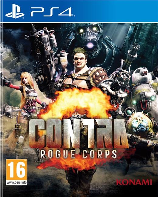 Igra CONTRA – ROGUE CORPS PS4