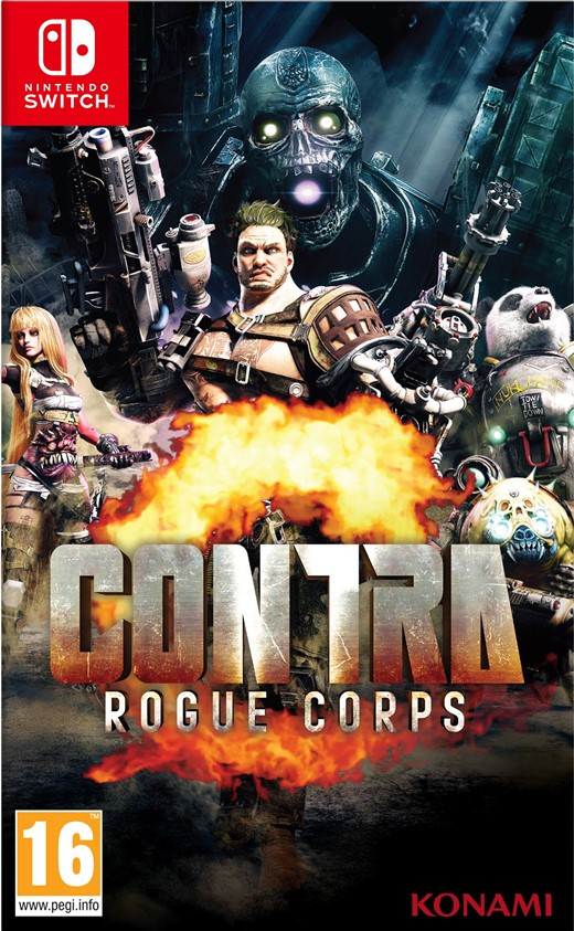 Igra CONTRA – ROGUE CORPS SWITCH
