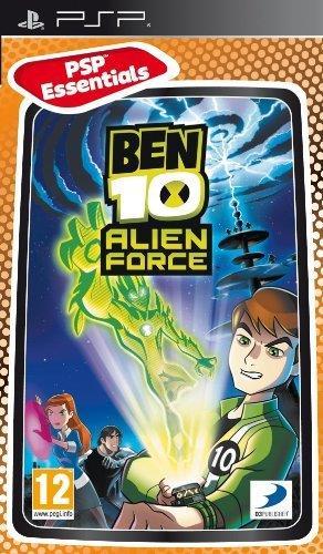 Igra BEN 10 ALIEN FORCE ESSENT PSP