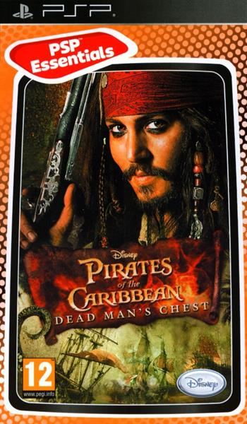 Igra PIRATES OF CARIBBEAN DEAD MAN CHEST         PSP