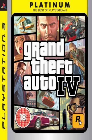 Igra GTA IV PLATINUM PS3 IGRA