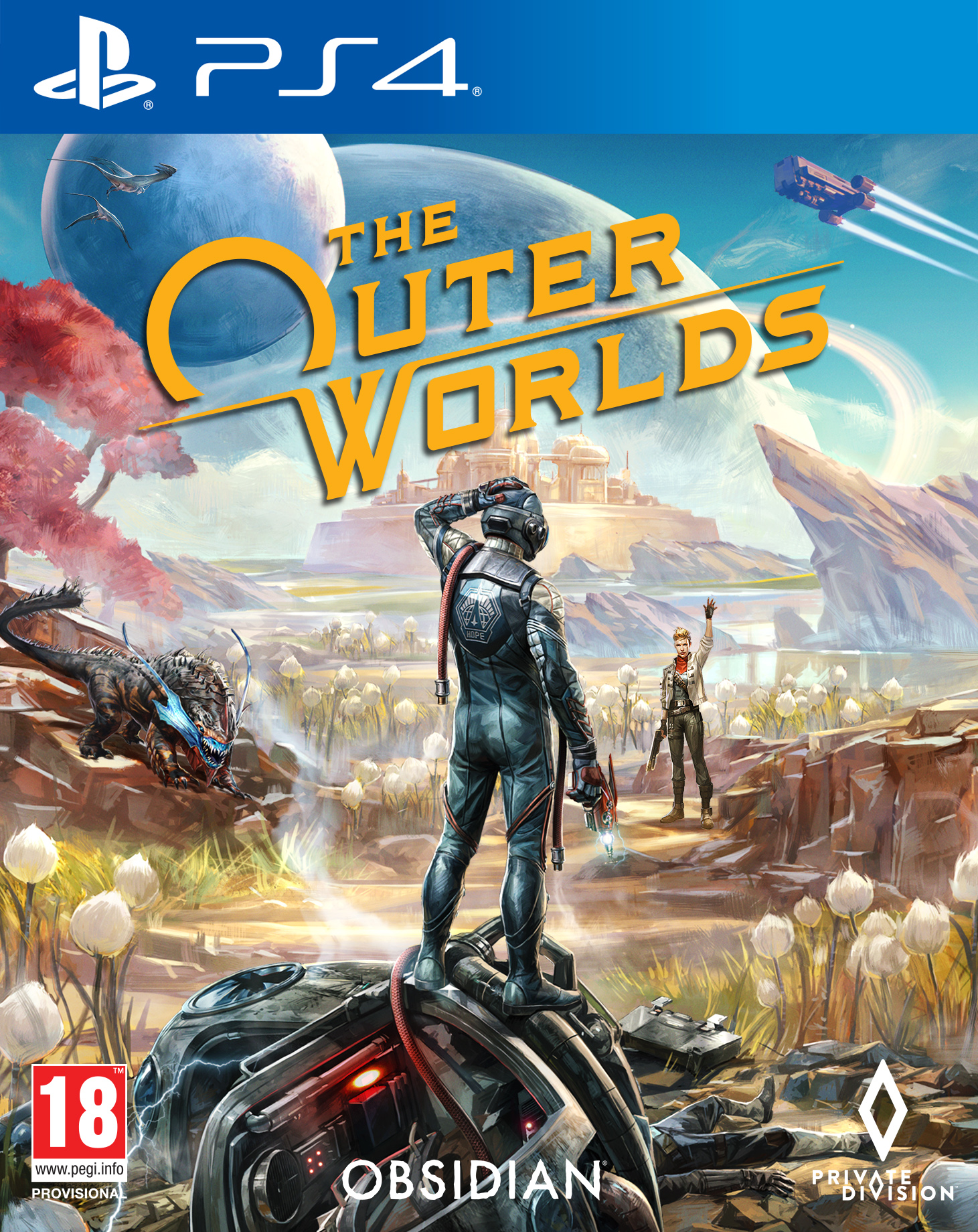 Igra OUTER WORLDS PS4