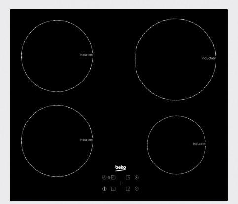 Set pečica + plošča BSM22321X + HII64400AT BEKO