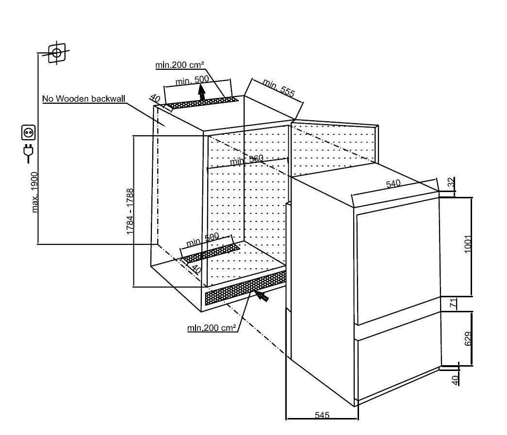 Hladilnik BCHA275E3S VGR. HLADILNIK BEKO