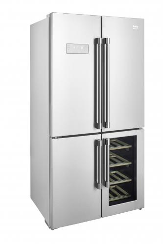 Hladilnik GN1416220CX AMER. HLAD. BEKO