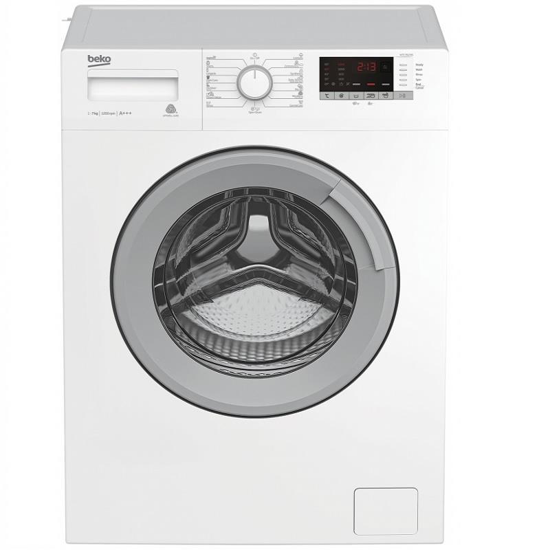 Pralni stroj WTE7612BS PRALNI STROJ BEKO