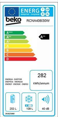 Hladilnik RCNA406I30W HLADILNIK BEKO