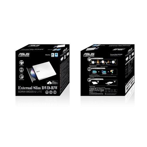 Bralnik in zapisovalnik SDRW-08D2S-U LITE ASUS DVD+/-RW 8X USB SLIM