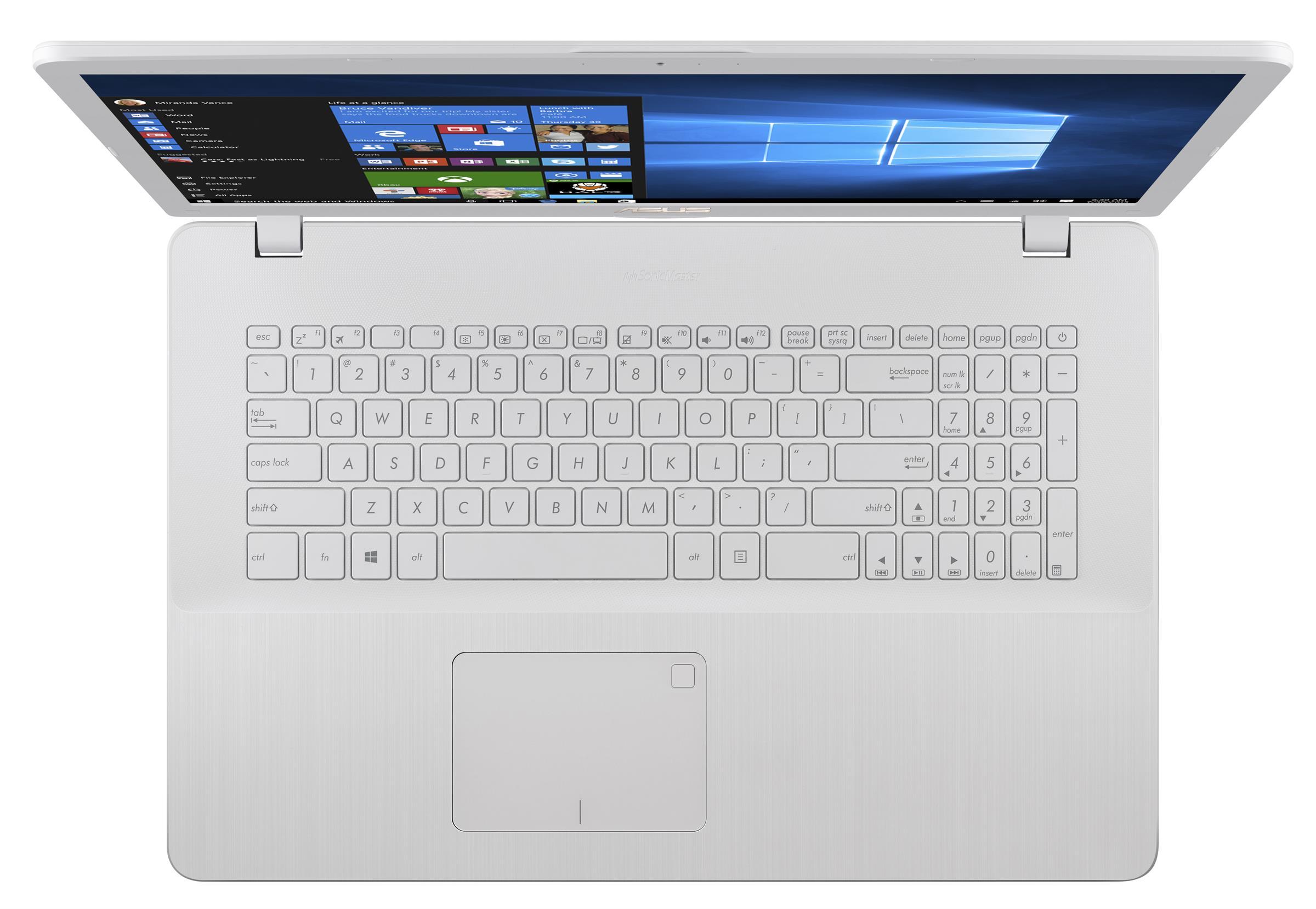 Prenosni računalnik X705UA-BX520T I3-8130U/4G ASUS 256G/UHD/W10 BEL