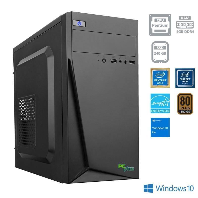 Namizni računalnik PCPLUS FAMILY PENTIUM G5400/4GB/240GB/W10