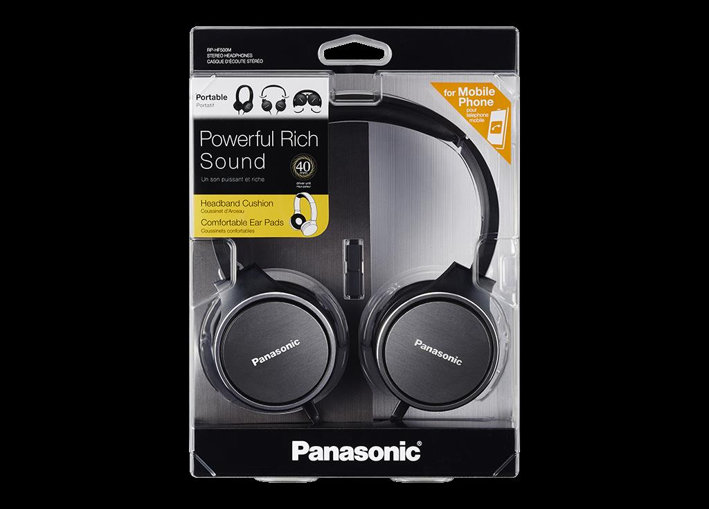 Slušalke RPHF500MEK PANASONIC