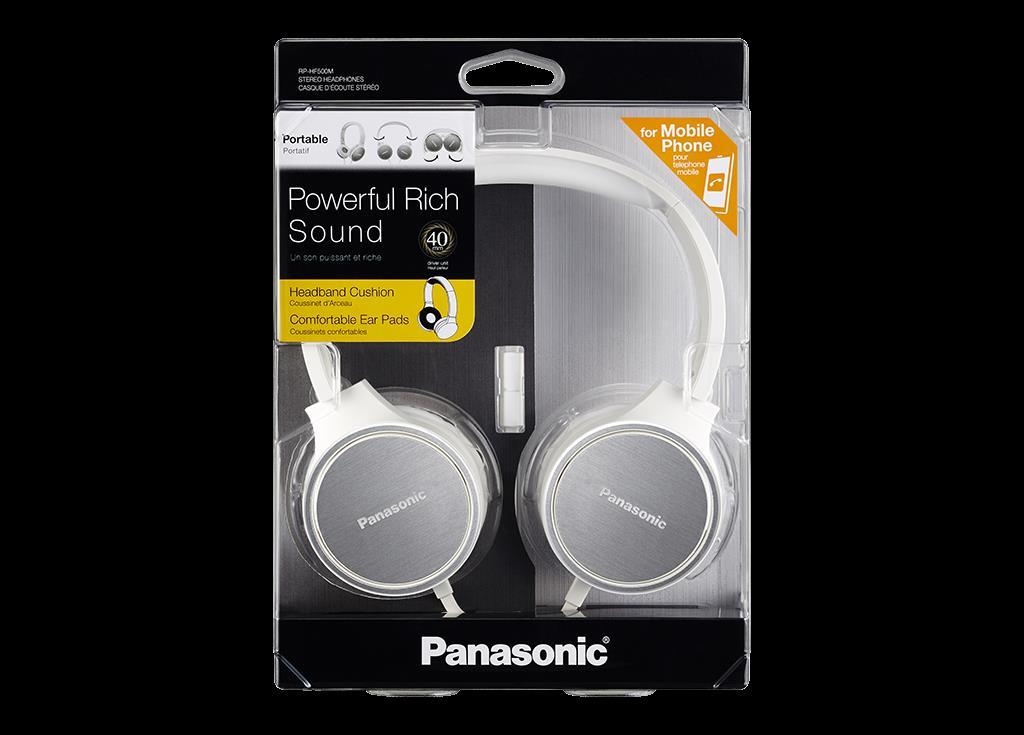 Slušalke RPHF500MEW PANASONIC