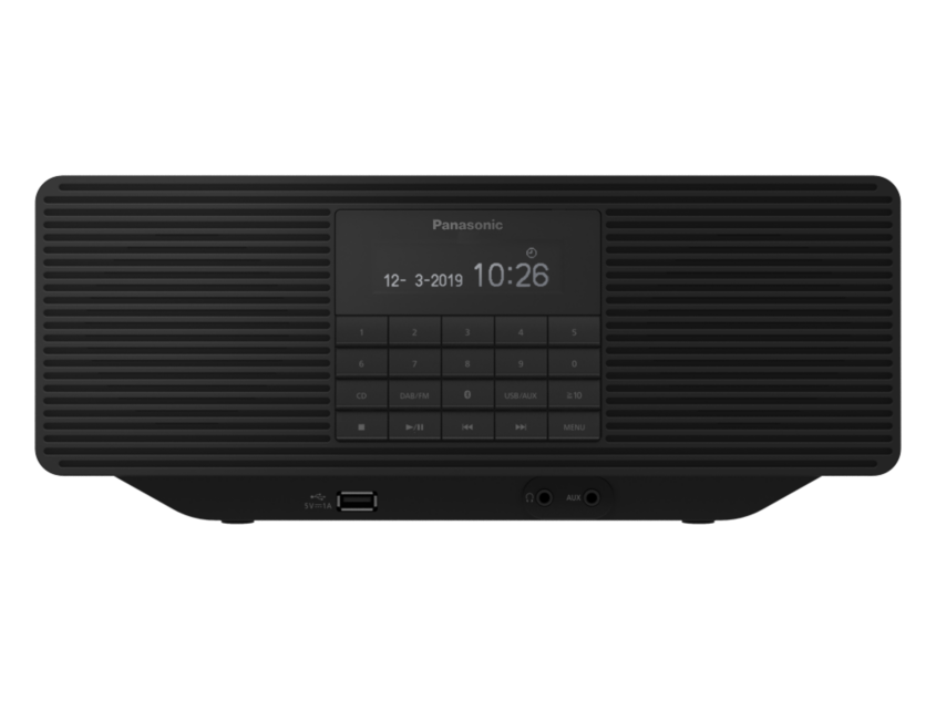 Prenosni radio RXD70BTEG-K PANASONIC