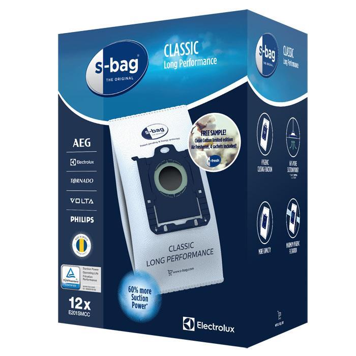 Vrečka za sesalnik E201SM MEGA PACK S-BAG ELECTROLUX