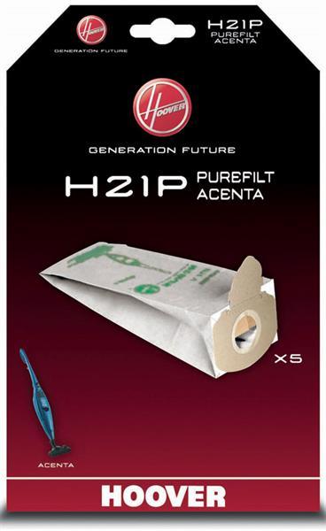 Vrečka za sesalnik H21P PUREFILT ACENTA HOOVER    (6)