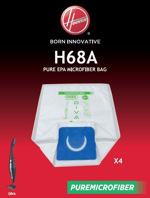 Vrečka za sesalnik H68A VREČKE ZA SESALNIKE HOOVER