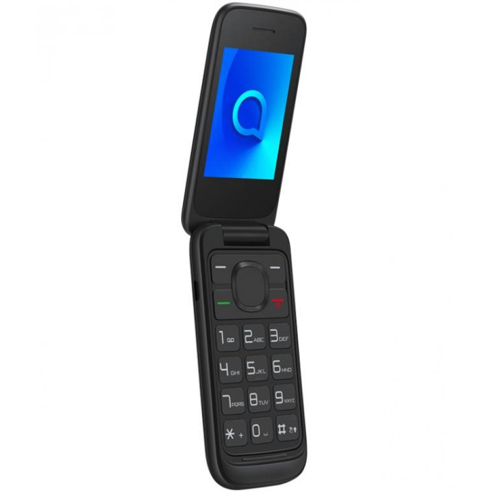 Gsm telefon GSM 2053D ČRN DUAL SIM ALCATEL PREKLOPNI