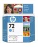 Toner/črnilo 72 69-ML CYAN INK CARTRIDGE HP