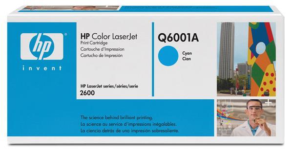 Toner/črnilo Q6001A CYAN LJ2600 HP