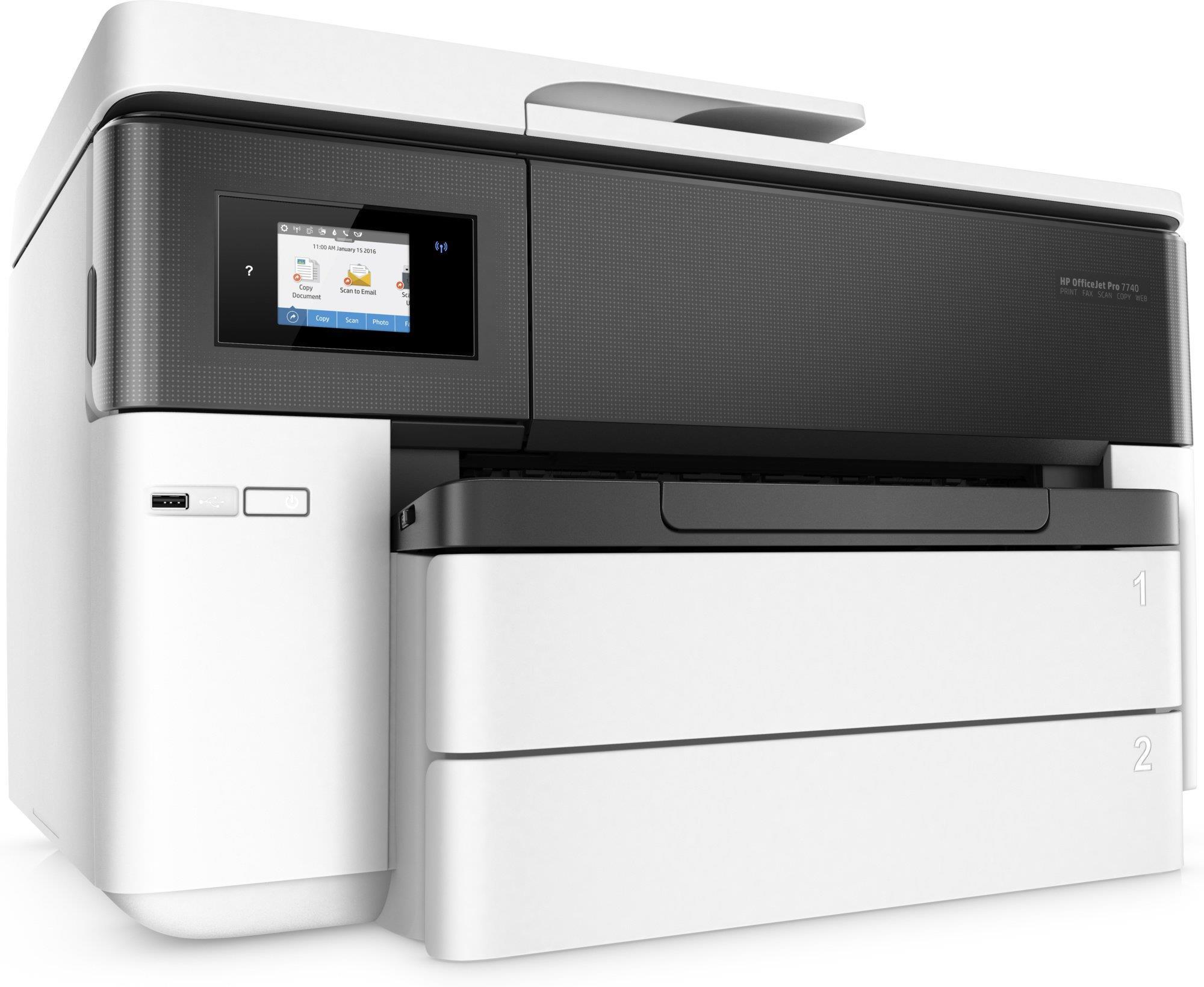 Tiskalnik HP OFFICEJET PRO 7740 WF WIDE FORMAT AIO