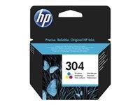 Toner/črnilo HP 304 TRI-COLOR INK CART