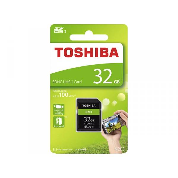 Spominska kartica SD 32GB 100MB/S TOSHIBA