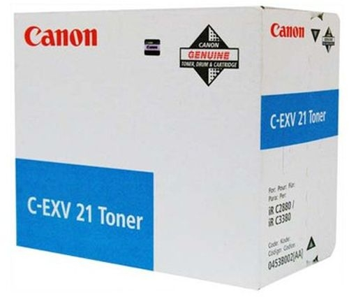 Toner/črnilo C-EXV21 C TONER CANON