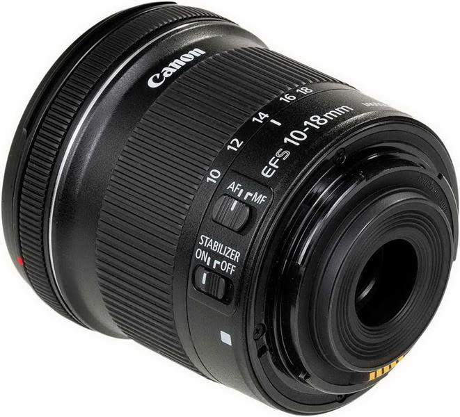 Objektiv EFS10-18MM IS STM CANON